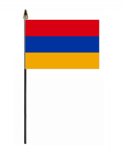 Armenia Country Hand Flag - Small.